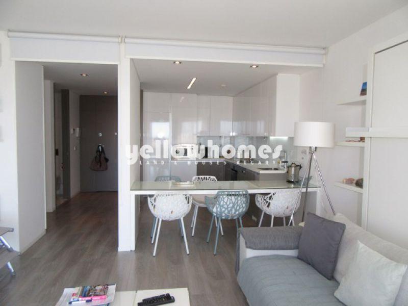 Apartamento de luxo T1 na linha da frente da Ria Formosa