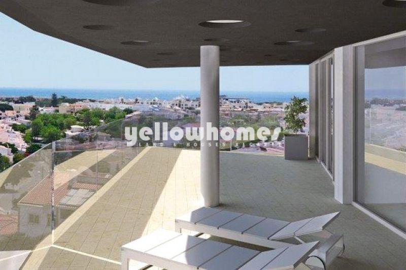 Recém-construídos apartamentos T2 em Lagos com bonita vista mar