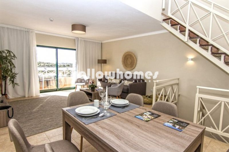 1 bed duplex apartment on a well-known golf resort near Carvoeiro