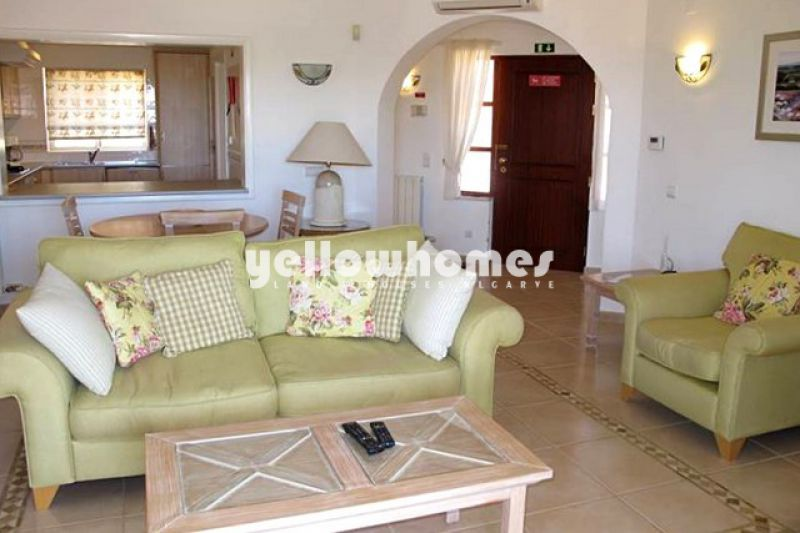 2-bed apartment with good rental potential at a Golf Resort near Carvoeiro