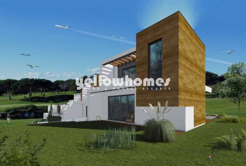 2-bed duplex apartments under construction at a Golf Resort