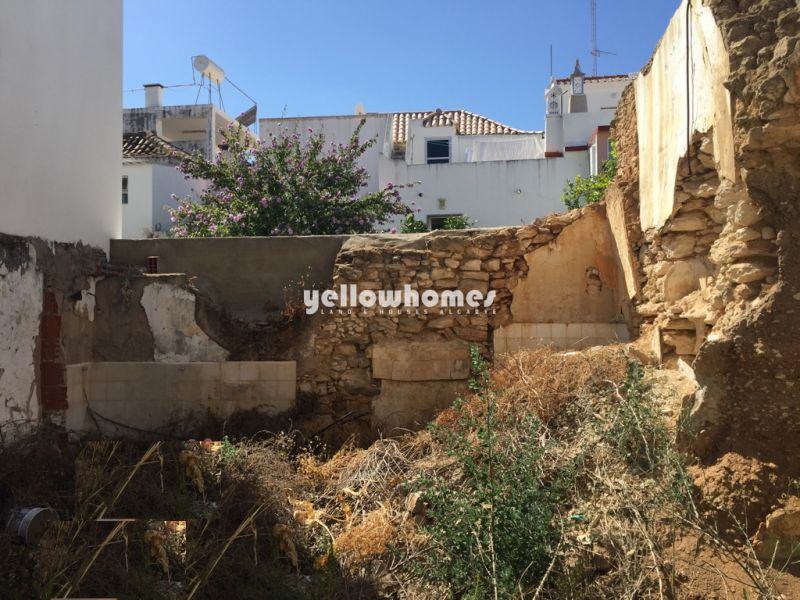 Project to construct a 2 storey villa in the centre of Tavira