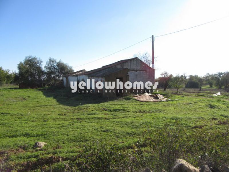 Building plot with approved project close to Tavira