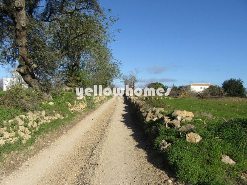 Terreno com projecto aprovado perto de Tavira