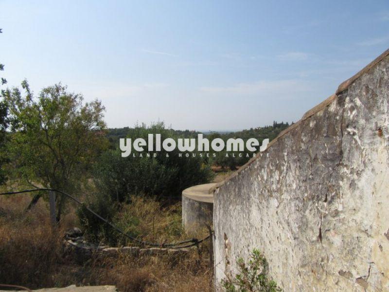 Ruin with country and sea views near Santo Estevão