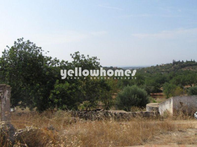 Ruin with distant sea views near Tavira