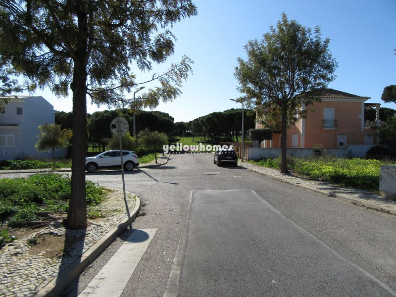 South facing building  plot in a well established urbanisation near Faro and beaches