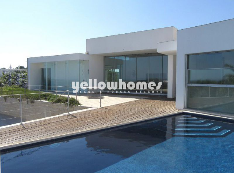 Contemporary Villa on a large plot with 180 degree sea views