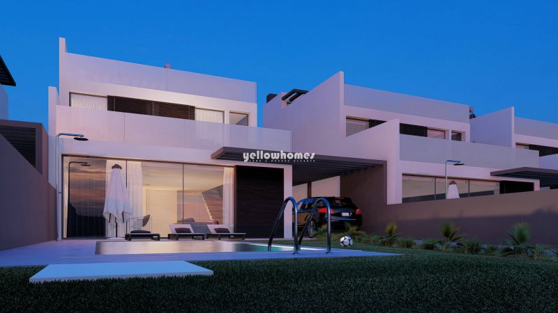 Newly built 3-bed detached villas with private pool near Tavita