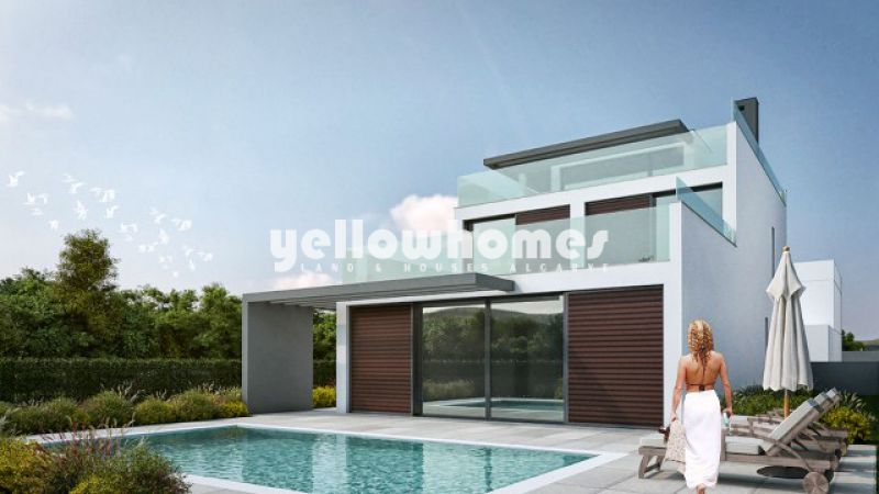 Newly built villa with private pool near the beautiful Ria Formosa lagoon