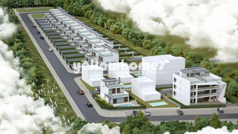 Contemporary 2-bed villa front line of Ria Formosa