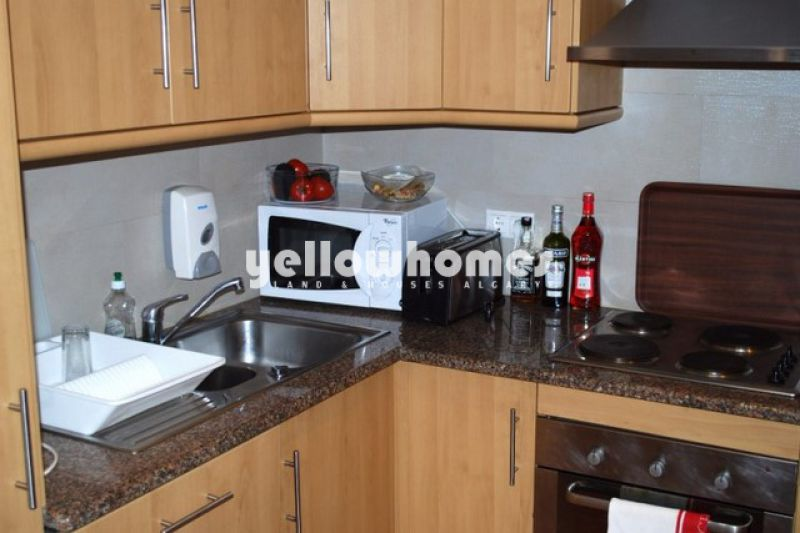 1+1 bed apartment in a private development only 100 mtr from the beach