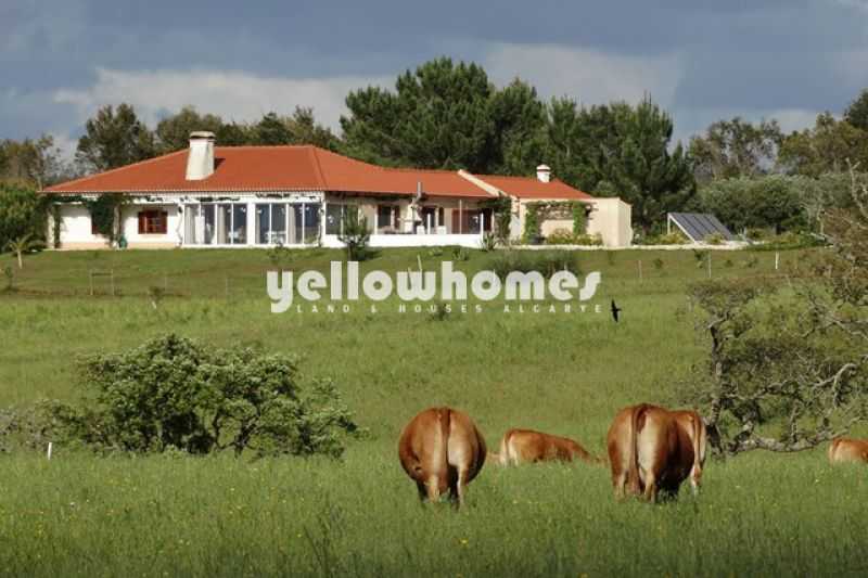 Magnififcent country style 4 bedroom Villa with salt water swimming pool