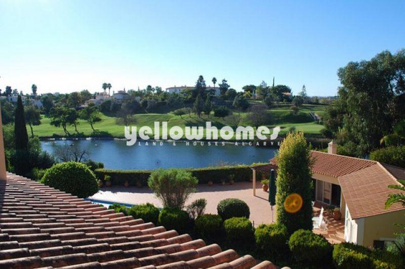 Luxurious 4-bed Villa built on 3 plots at a Golf Resort near Carvoeiro