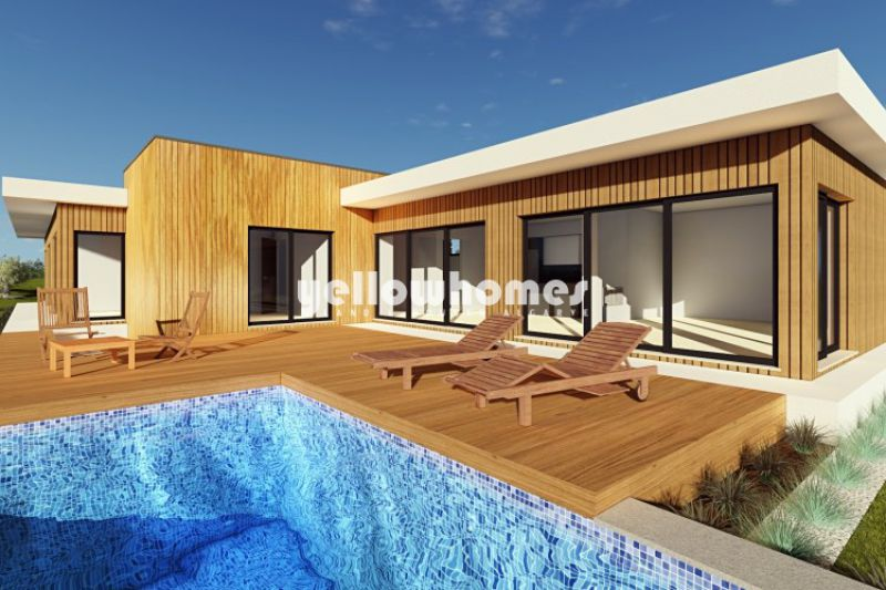 Villa V3 under construction on a Golf Resort near Silves