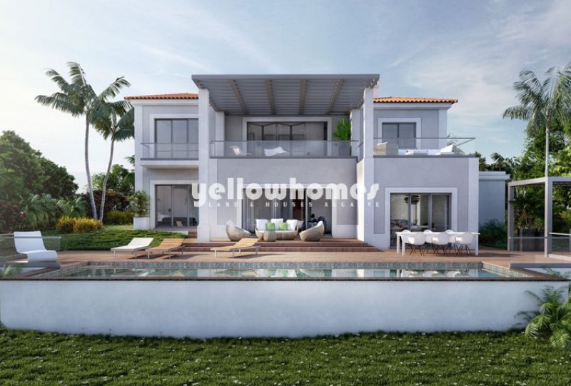 Turnkey project for a luxury 4-bed villa at golf course near Carvoeiro