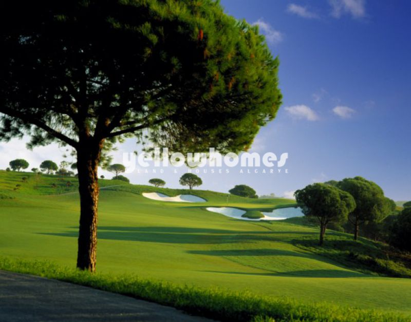 Exclusive building plots at the golf course