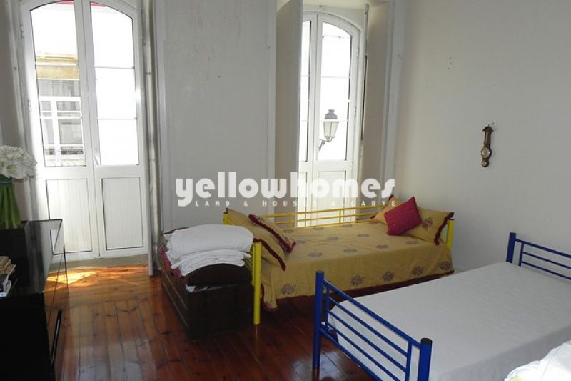 Historical building in Loule town centre perfect property to combine work and living