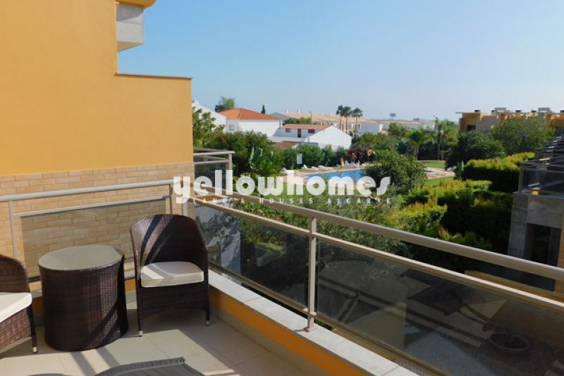 Ferreiras 3 bed villa for sale with large communal pool