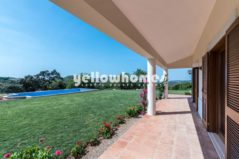 New villa (3+1 beds) with Annex and views near Santa Barbara and Sao Bras