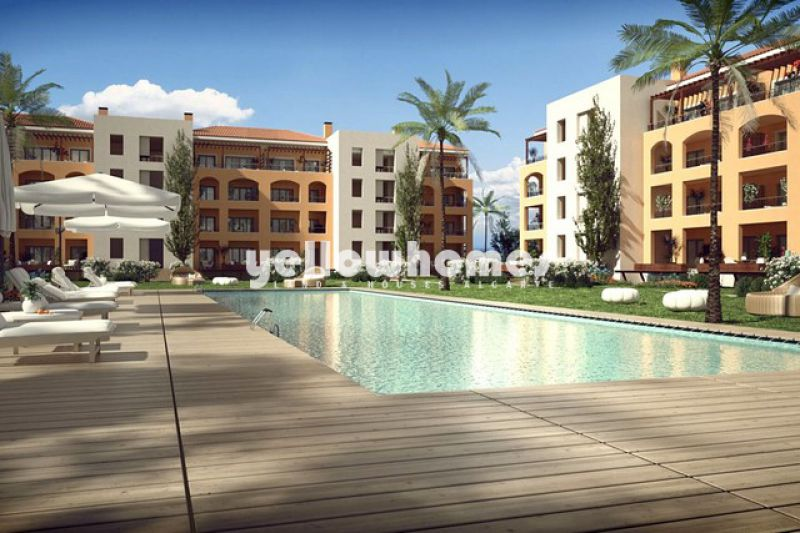Spacious 2-bed apartments under construction in a exclusive development