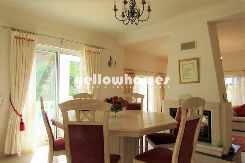 Elegant 3-bed villa on a prestigious golf resort near Carvoeiro