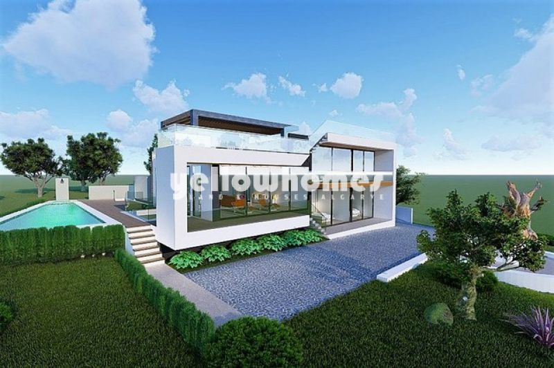 Projeto para uma casa contemporânea fantástica com vista mar maravilhosa