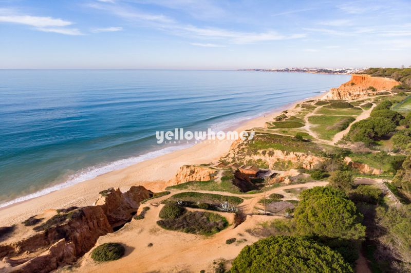 Rare Opportunity: Beach fronted villa near Olhos de Agua / Albufeira