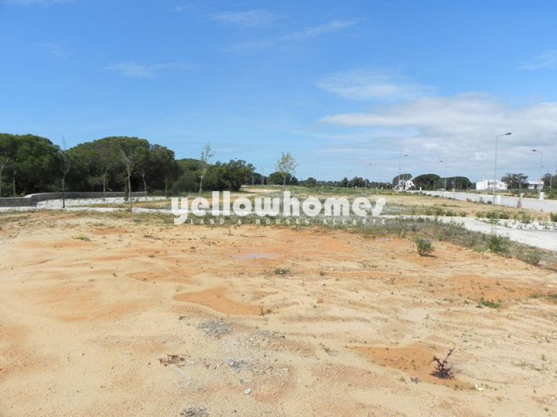 Commercial building plot with easy access for sale Algarve