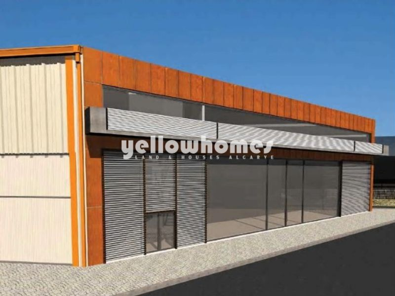 Plot for construction /warehouse for sale near Quarteira