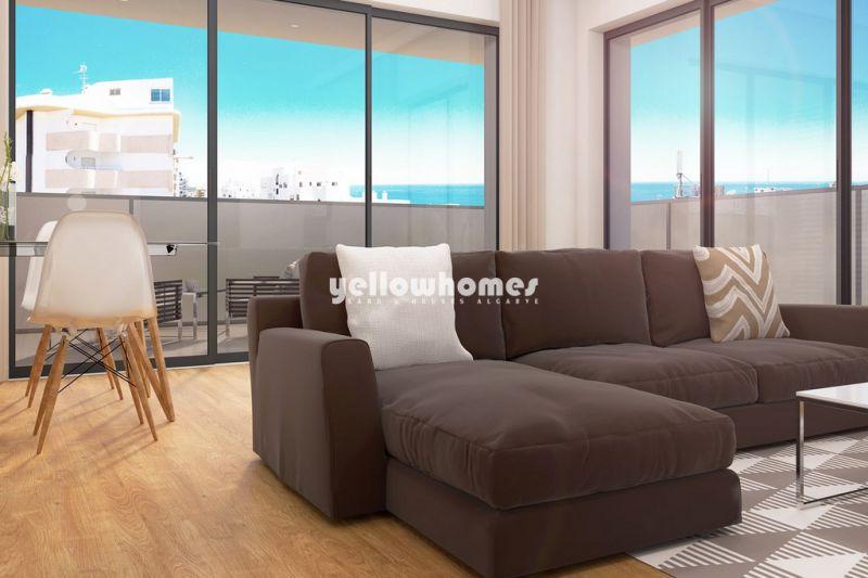 Apartamento T1 moderno a poucos passos da praia de Quarteira