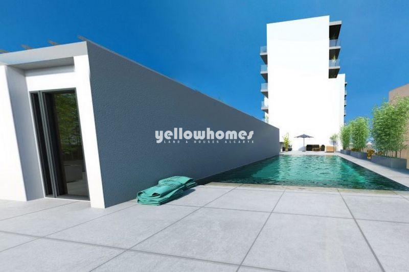 Apartamentos modernos T2 perto da praia de Quarteira