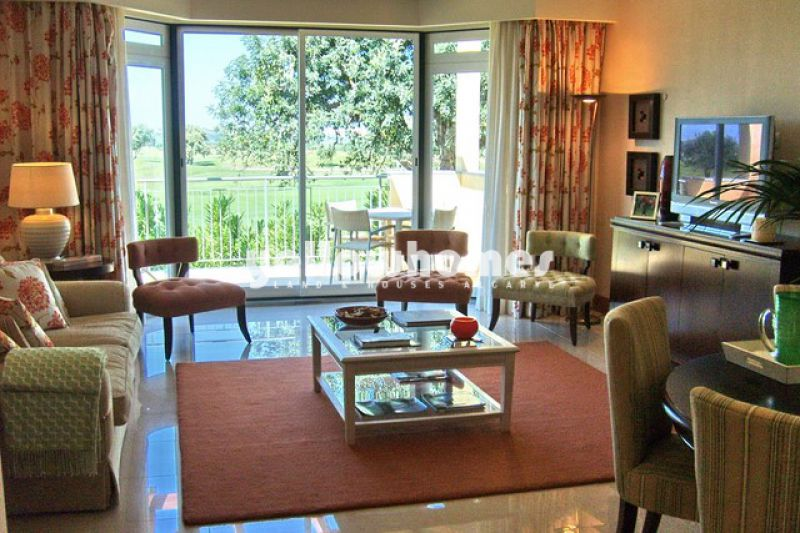 Unique luxury 2-bed ground floor apartment in Vilamoura