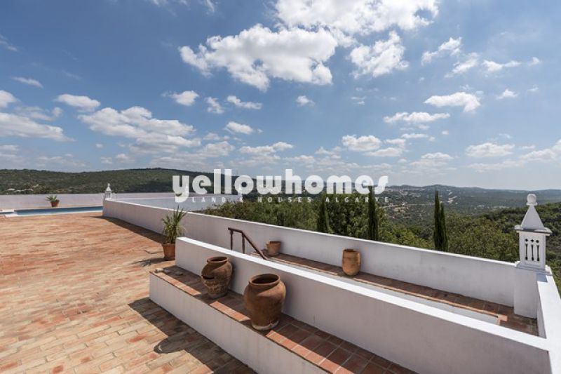 4 bed rustic property with views Between Loule and Sao Bras
