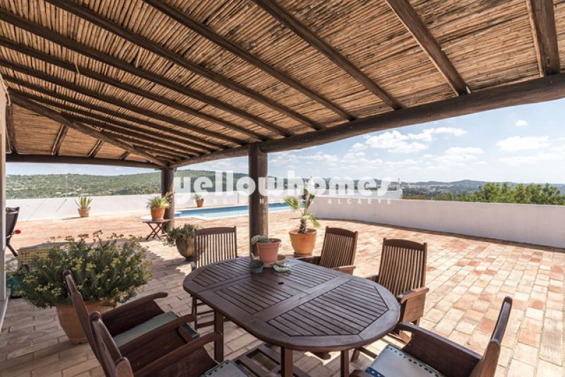 Between Loule and Sao Bras 4 bed rustic property with views
