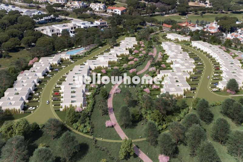Off Plan: High quality newly built 4-bed linked villas in Vilamoura